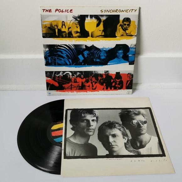 SOLD! 1983 Vintage Police record/LP